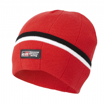 Toyota Gazoo Racing WRC Adults Knitted Beanie - Red